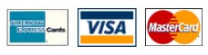 We accept all major credit cards and direct bank details will be on your invoice
