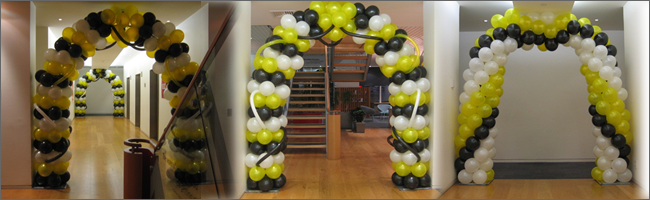 Balloon arches, Party Hire