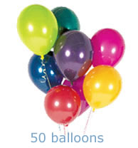 Helium balloon special deal