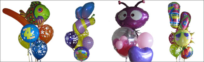 Birthday balloon bouquet selection
