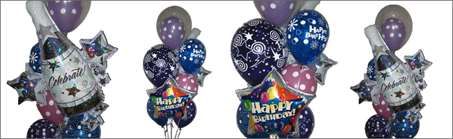 Giant celebration balloon bouquet delivered Auckland wide