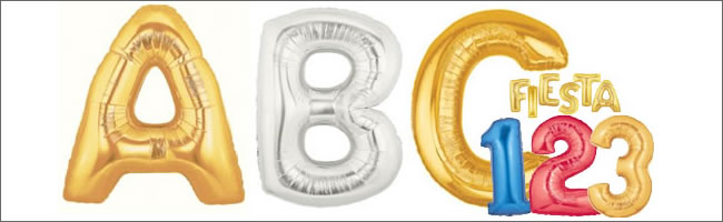Giant Number And Letter Balloons For Corporate Events And