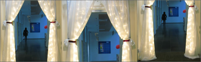 Fairylight curtains for hire