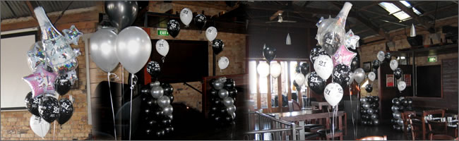 Birthday balloons and event decorating with balloons for 21st birthday room decoration ideas