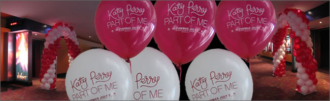 Katy Perry promotional balloons, Auckland