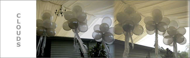 Puff Cloud balloon decor