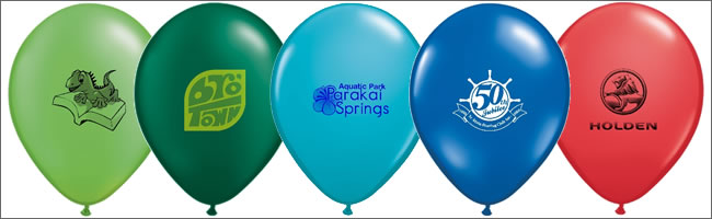 Logo balloon colour selection