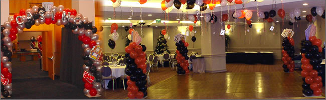 Christmas Decoration Hire Nz : Christmas party balloons for corporate events auckland