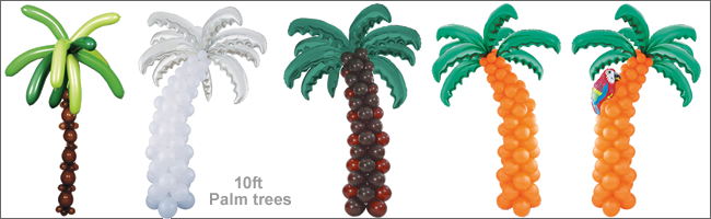 Amazing Balloon Palm Tree 650 x 200 · 301 kB · png